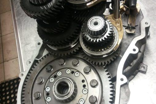 Opravy manu†ln°ch pżevodovek M56,M58